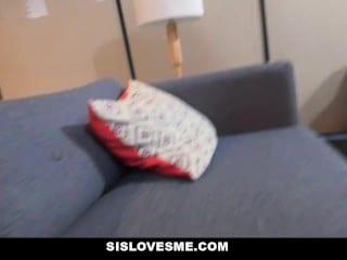 SisLovesMe – Big StepSister Loves To Tease Me