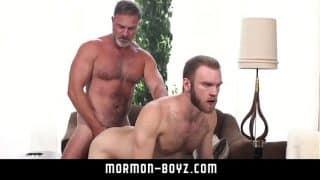 Hot bear daddies bareback hairy anus pounding MORMON-BOYZ.COM